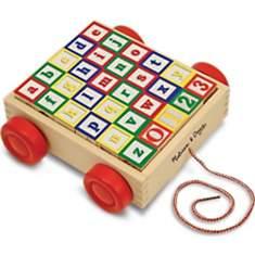Chariot avec cubes ABC/123