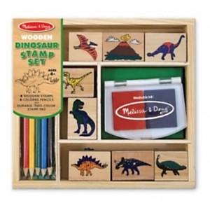 Tampons encreurs Dinosaures