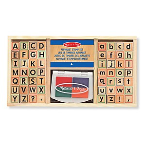 Tampons encreurs Alphabet