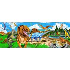 Puzzle géant Pays des dinosaures