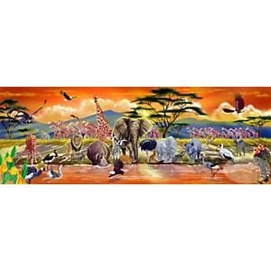 Puzzle géant Safari - 100 pièces