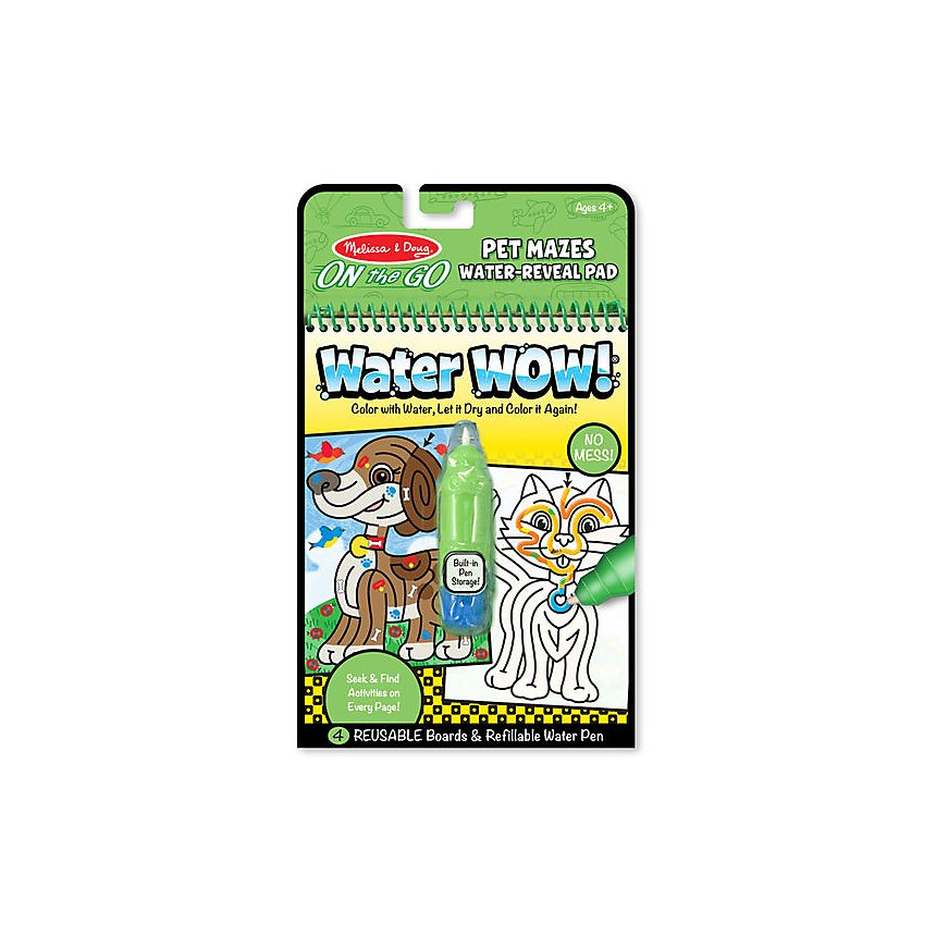 Water Wow! Animaux labyrinthes