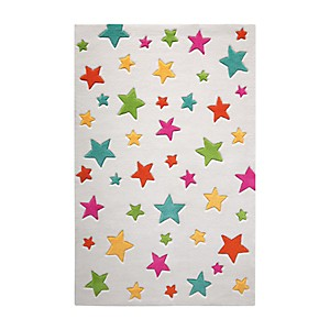 Tapis blanc Simple Stars SMART KIDS