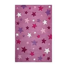 Tapis rose Simple Stars SMART KIDS