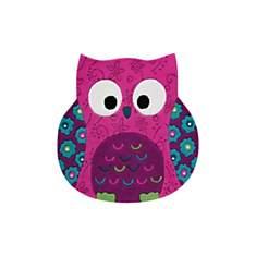 Tapis hibou rose Little Owl SMART KIDS