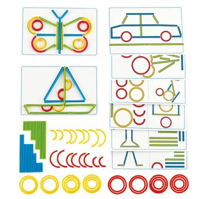Tiges et anneaux - Autocollants créatifs