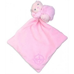 Doudou câlin rose