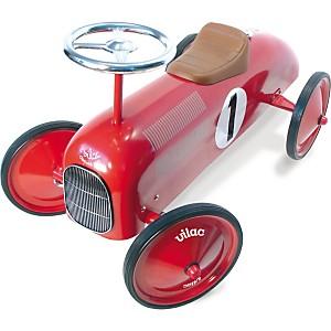 Porteur voiture métal Rouge