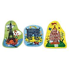 3 puzzles Paris
