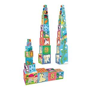 Cubes Gigognes Animaux du monde