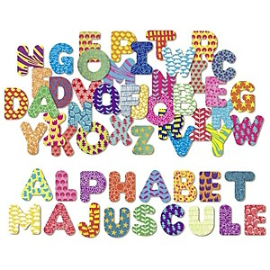 Magnets Alphabet Majuscule