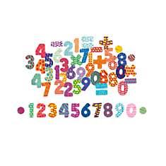 Magnets Chiffres - 56 pièces