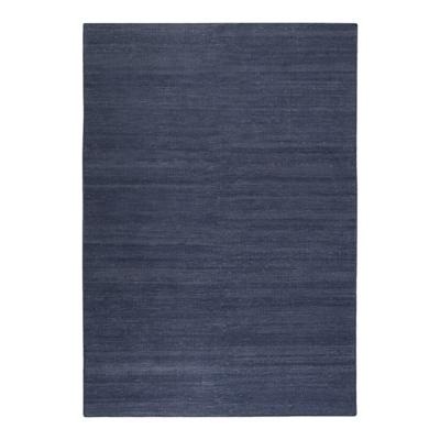 tapis bleu marine rainbow kelim esprit home - Tapis Bleu Marine