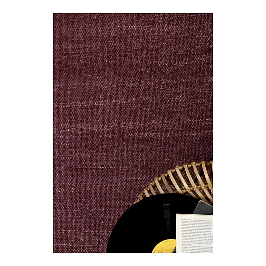 Tapis bordeaux Rainbow Kelim ESPRIT HOME