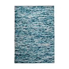 Tapis bleu Reflection ESPRIT HOME