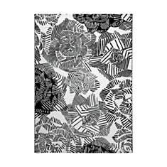 Tapis noir et blanc Rosia ESPRIT HOME