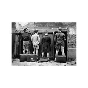 Tirage Photo garçonnets Paris 1949