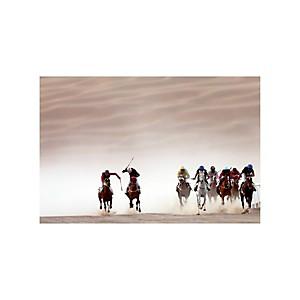 Tirage Photo course de pur-sang