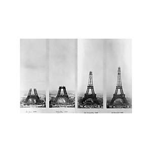 Tirage Photo construction Tour Eiffel
