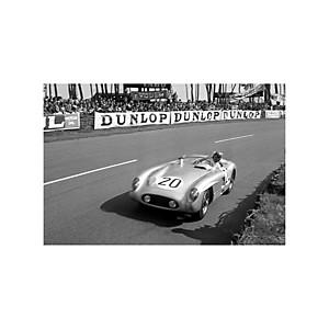Tirage Photo 24h du Mans 1955