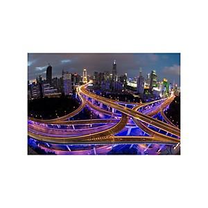 Impression acrylique Shanghai de nuit
