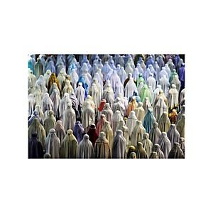 Impression acrylique prière du Tarawih