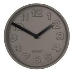 Horloge murale Concrete Time Zuiver