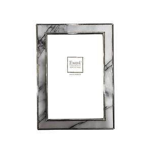 Cadre photo marbré gris 10x15