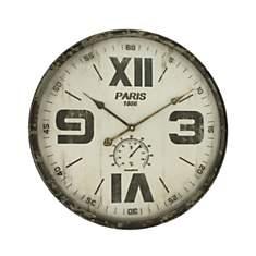 Horloge mix chiffres romains 60cm