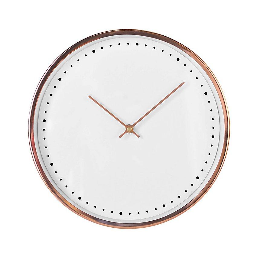 Horloge or rosé 30cm