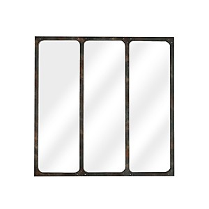 Miroir Atelier rouillé 70x70