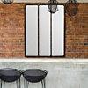 Miroir Atelier rouillé 90x120