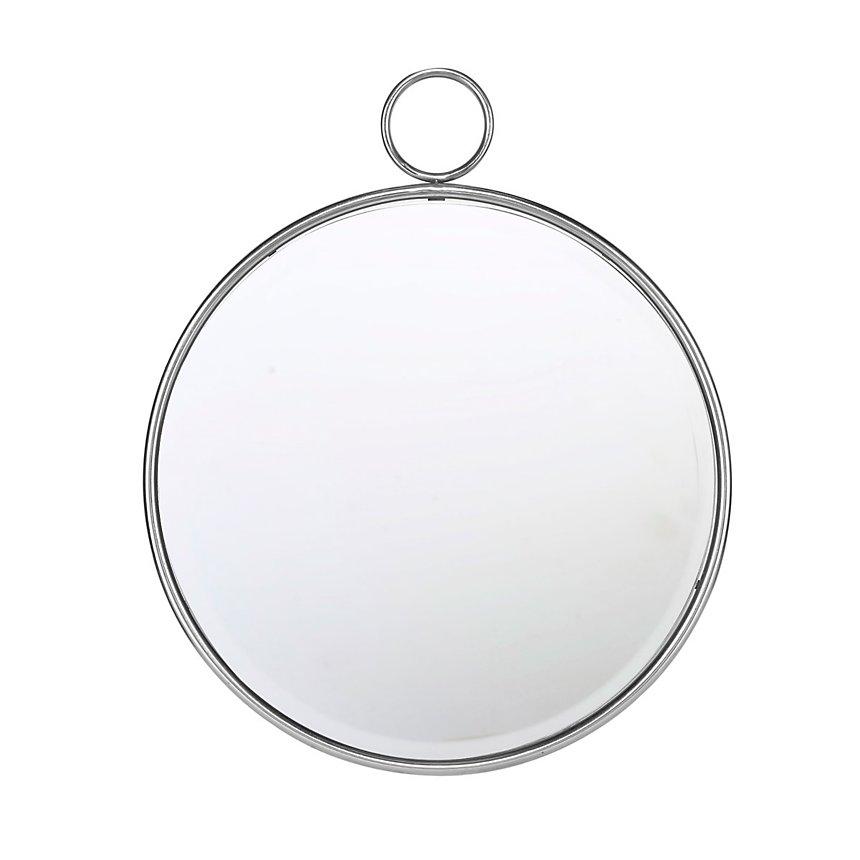 Miroir rond avec anneau 62cm