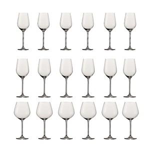 Lot de 18 Verres à vin Fortissimo Schott