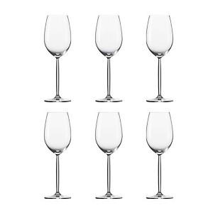 Lot de 6 Verres à vin blanc Diva Schott
