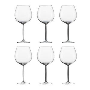 Lot de 6 Verres à vin Bourgogne Diva Sch