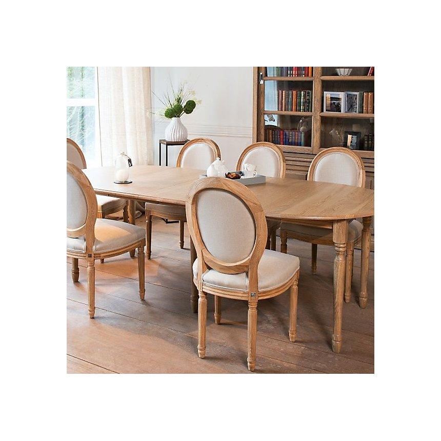 Table extensible ronde bois à rallonges 105 cm avec pieds tournés ... 64fdafed84ab