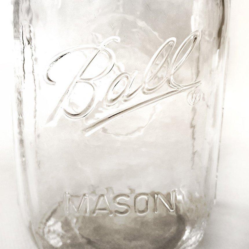 Lampe à poser en bocal BALL mason jar américain