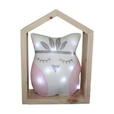 Veilleuse chouette lumineuse Candy