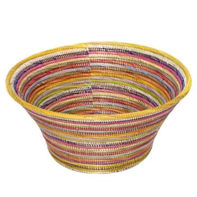 Panier de rangement multicolore