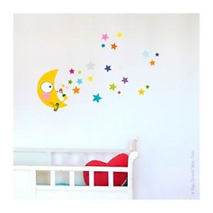 Sticker nuit étoilée