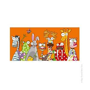 Tableau les animaux (38x78 cm)