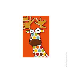 Tableau tête de caribou