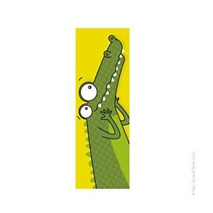 Tableau tête de crocodile