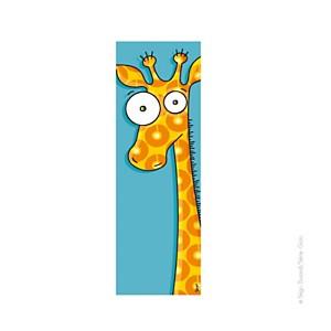 Tableau tête de girafe