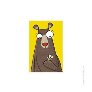 Tableau tête d'ours