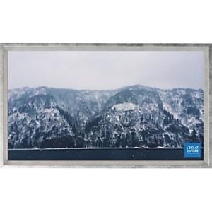Cadre photo panoramique argenté