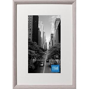 Cadre photo gris clair avec passe partou