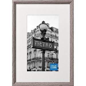 Cadre photo gris foncé avec passe partou