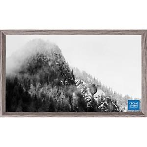 Cadre photo panoramique gris foncé